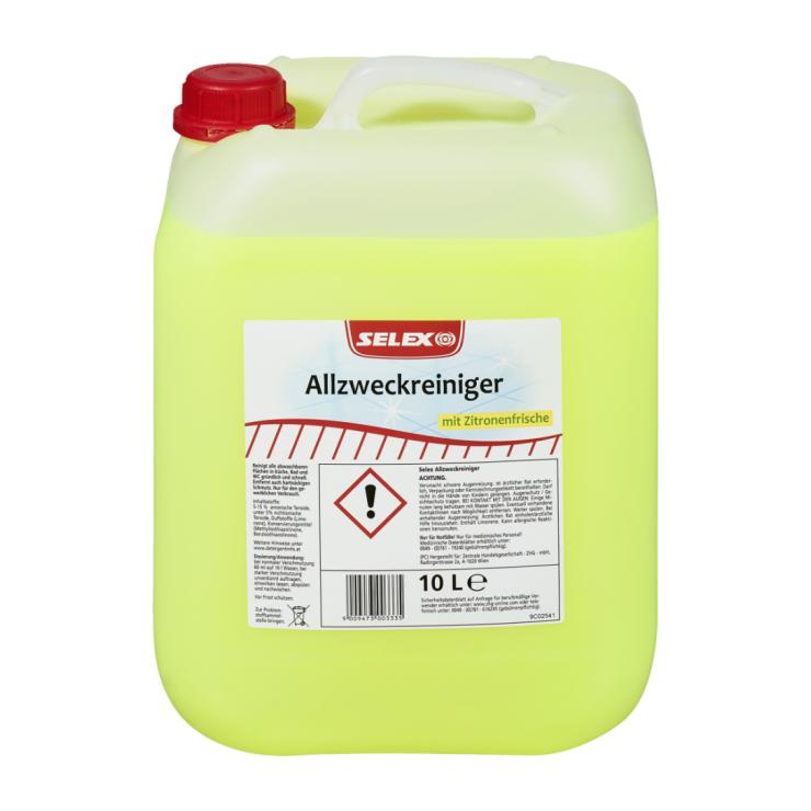Selex Allzweckreiniger mit Zitronenfrische