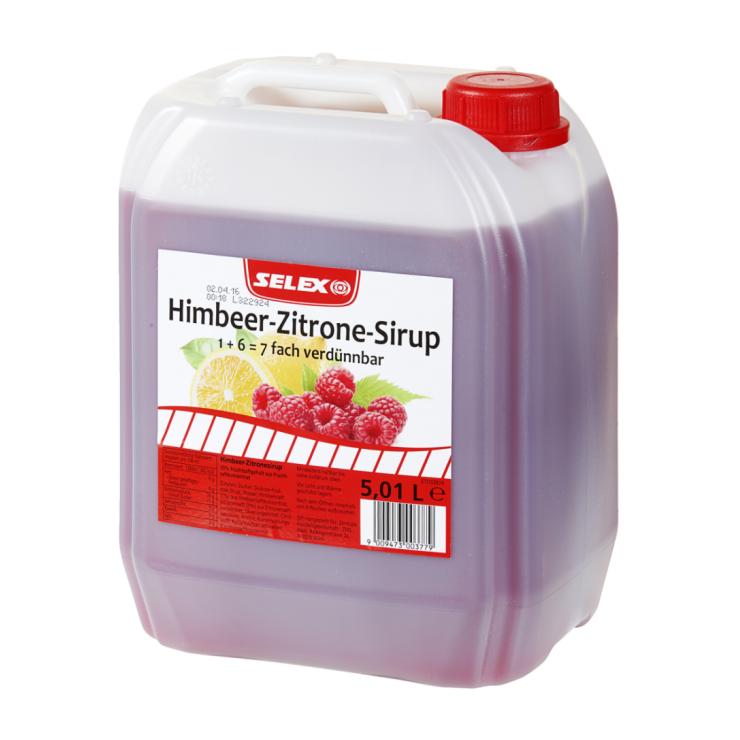 SELEX Himbeer-Zitrone Sirup 5l
