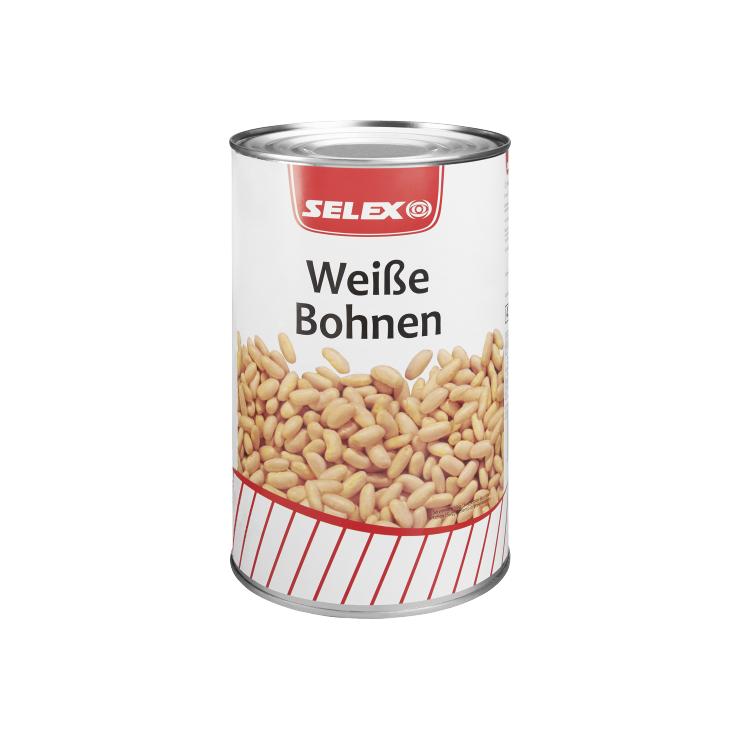 Selex Weiße Bohnen 4250 ml