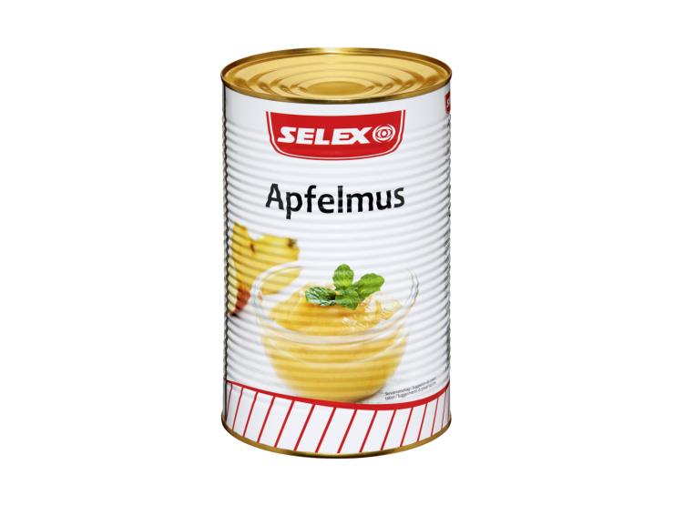 Selex Apfelmus, 4250 ml