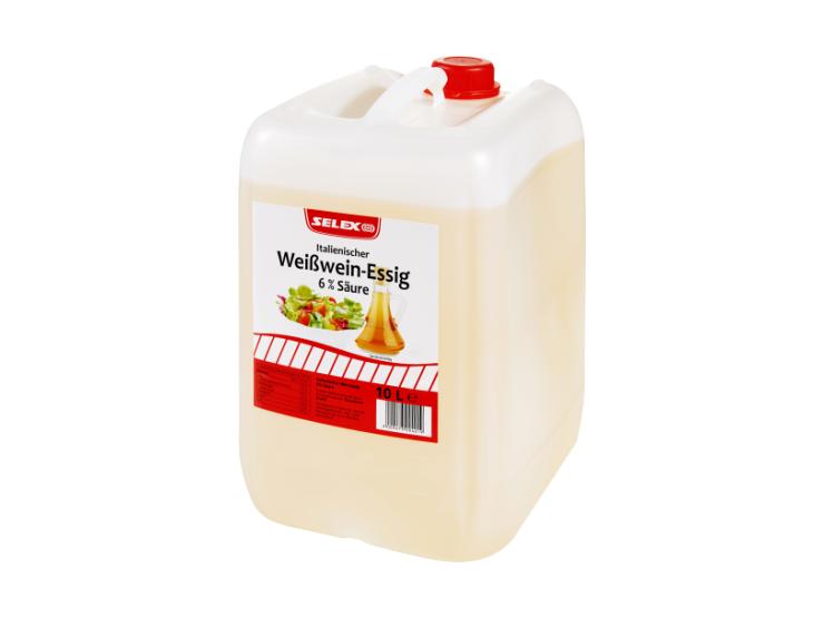 """""""SELEX"""" Italienischer Weißwein-Essig 6% Säure 10 L"""